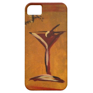 """LA VIE EN ROSE"" MARTINI GLASS PRINT iPhone SE/5/5s CASE"