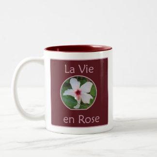 La vie en ROSE Coffee Mugs
