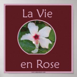 La vie en ROSE Posters