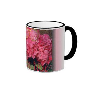"""la vie en rose"" ringer mug"