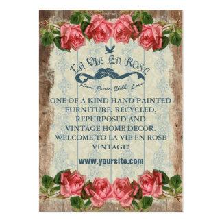 La Vie En Rose Vintage ~ Business Card