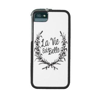 La Vie Est Belle iPhone 5 Case