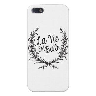 La Vie Est Belle Cases For iPhone 5