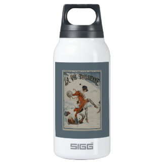 La Vie Parisienne 1920 Through The Ice by Herouard Insulated Water Bottle