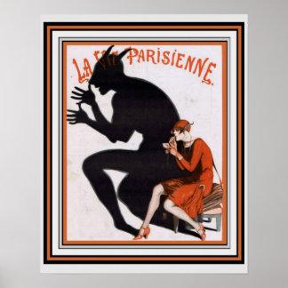la vie parisienne posters zazzle. Black Bedroom Furniture Sets. Home Design Ideas
