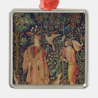 La Vie Seigneuriale - Leaving for the Hunt Ornaments