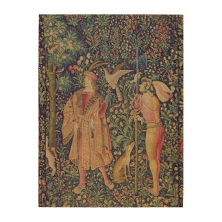 La Vie Seigneuriale - Leaving for the Hunt Wood Wall Art