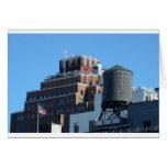 La vieja construcción de Port Authority Tarjetón