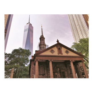 La vieja guardia. La capilla de San Pablo Tarjeta Postal