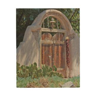 La vieja puerta de Josefina Impresiones En Madera