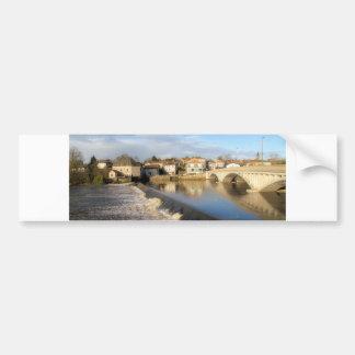 La Vienne Bridge Car Bumper Sticker