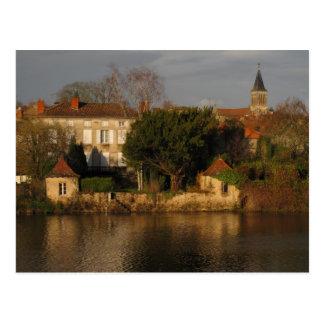 La Vienne Evening Light Postcard