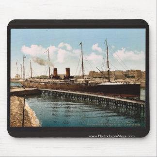 La vintage de Boulogne, Havre que entra, Havre, Fr Alfombrillas De Raton