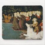La violación del Europa, c.1470 (aceite en el pane Tapete De Raton