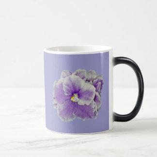 La violeta africana Morph la taza