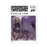 La violeta del ángel encanta franqueo
