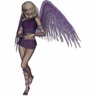 La violeta del ángel encanta la escultura de la fo escultura fotográfica