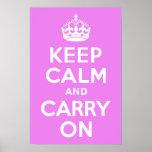 La violeta guarda calma y continúa poster