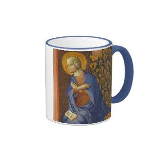 La Virgen anuncia, C. 1430 (el tempera en el panel Taza