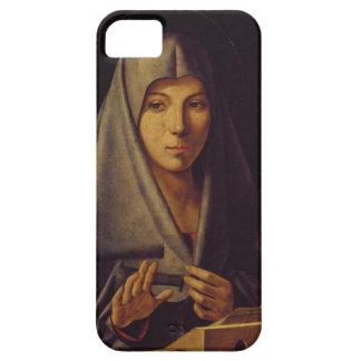La Virgen anuncia (el aceite en el panel) Funda Para iPhone SE/5/5s