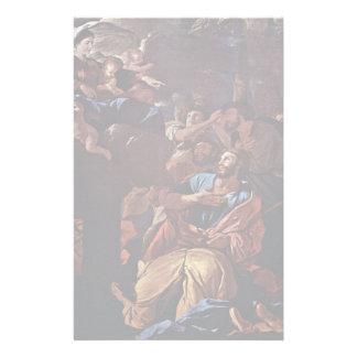 La Virgen apareció a San Jaime, por Nicolás Papeleria