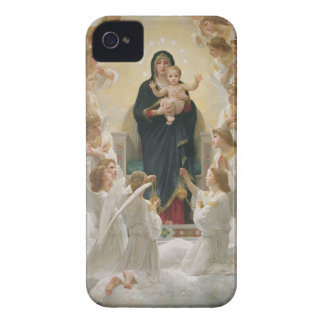 La Virgen con Angels, 1900 iPhone 4 Funda