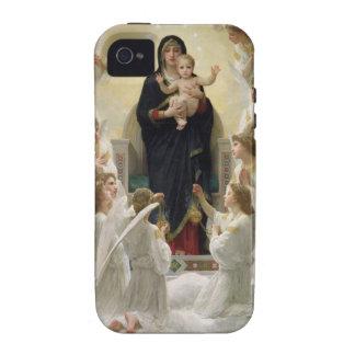 La Virgen con Angels, 1900 iPhone 4 Carcasa