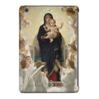 La Virgen con Angels, 1900 Fundas De iPad Mini Retina