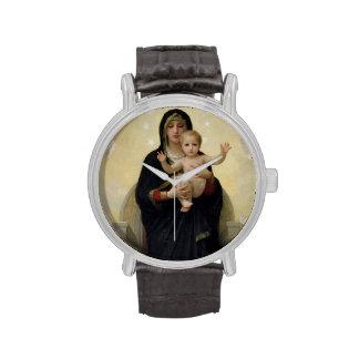 La Virgen con Angels, 1900 Reloj