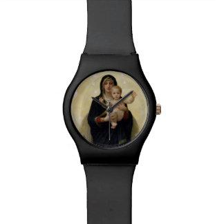 La Virgen con Angels, 1900 Relojes
