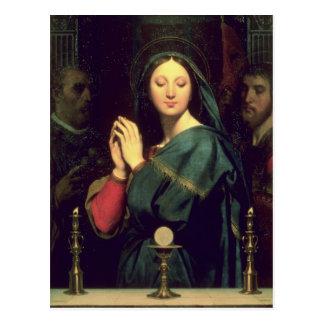 La Virgen con el anfitrión, 1841 Postal