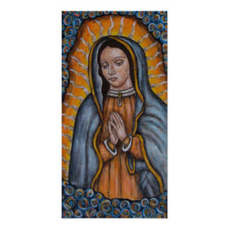 La Virgen de Guadalupe - poster