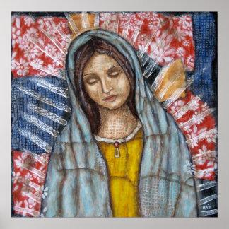 La Virgen de Guadalupe Posters