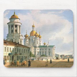 La Virgen de la iglesia de Vladimir Alfombrillas De Ratones