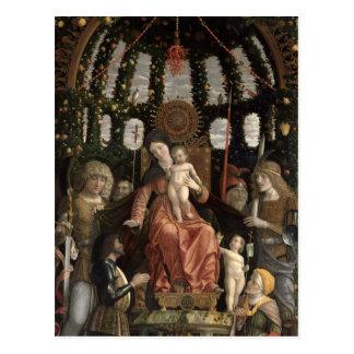 La Virgen de la victoria o Madonna y el niño Tarjetas Postales