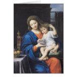 La Virgen de las uvas, 1640-50 Felicitaciones