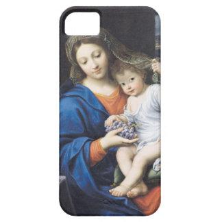 La Virgen de las uvas, 1640-50 Funda Para iPhone SE/5/5s