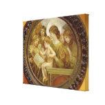 La Virgen de los ángeles Lienzo Envuelto Para Galerias
