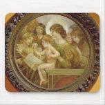 La Virgen de los ángeles Tapete De Ratones