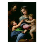 La Virgen del color de rosa, c.1518 Tarjeta De Felicitación