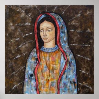 La Virgen del poster de Guadalupe