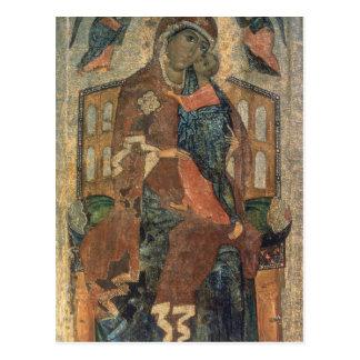 La Virgen del Tolg, escuela de Yaroslavl Postales