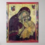 La Virgen Eleousa, de Nessebar Posters
