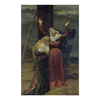 La Virgen en el pie de la cruz Impresiones
