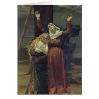 La Virgen en el pie de la cruz Felicitaciones