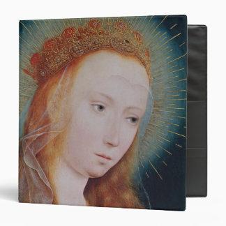 "La Virgen en el rezo Carpeta 1 1/2"""