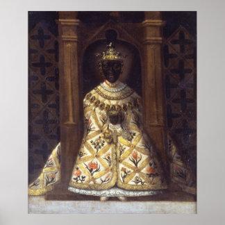 La Virgen negra en el Chadaraita Póster