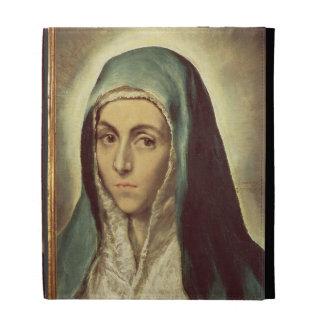 La Virgen que está de luto (aceite en lona)