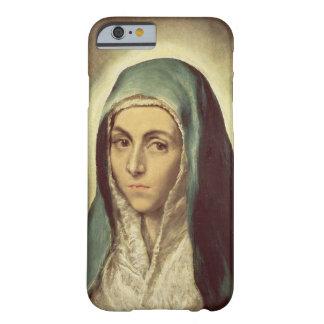 La Virgen que está de luto (aceite en lona) Funda De iPhone 6 Barely There