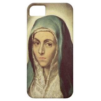 La Virgen que está de luto (aceite en lona) iPhone 5 Carcasa
